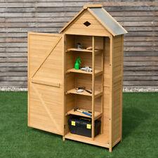 Holz Gartenschrank Gerätehaus Geräteschuppen Geräteschrank Gartenhaus Satteldach