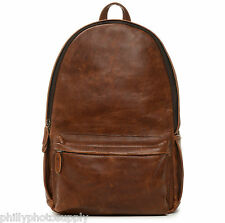 ONA Clifton Leather Backpack (Antique Cognac)- Premium Handcrafted Backpack