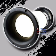 "High Quality Molded 4"" x 10"" Aero-port for 10""-18"" Sub-woofer Bass Enclosure US"