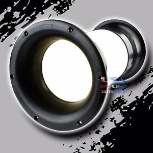 """High Quality Molded 4"""" x 10"""" Aero-port for 10""""-18"""" Sub-woofer Bass Enclosure US"""