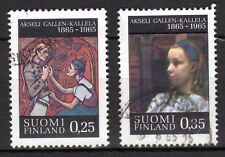 Finland - 1965 Paintings Gallen-Kallela  - Mi. 598-99 VFU