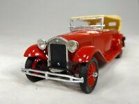 RIO #42 Lancia Dilamda 1929 Torpedo - 1:43 Scale Vintage Model Car - Red