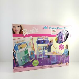 Barbie All Around Home Dining Room Playset 2000