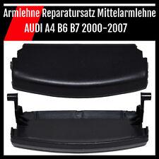 Mittelarmlehne Armlehne Deckel Reparatursatz Verschluß AUDI A4 8H B6 B7 Schwarz