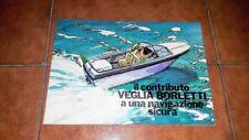 BROCHURE CATALOGO ADVERTISEMENT STRUMENTI NAUTICI VEGLIA BORLETTI YACHT 1970