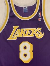 Kobe Bryant vintage 1996 Champion Rookie Jersey Lakers NBA Champs MAMBA 🐍 rare