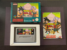 Dragon Ball Z Ultimate Menace - Jeu Super Nintendo SNES - Complet PAL FRA [RARE]