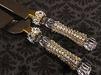 Wedding Rhinestone Cake Knife and Server Set Anniversary Sweet 16 All Occasion