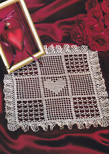 Crochet Pattern ~ SHADOW BOX DOILY ~ Instructions