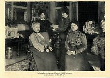 Lilli Lehmann lehrmeisterin des Gesanges * immagine documento del 1903