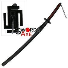 Japanese Anime Samurai Sword Black Ninja Cosplay Replica Katana Dark Souls