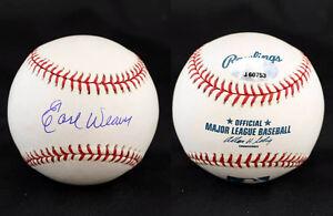 Earl Weaver SIGNED ROMLB Baseball Baltimore Orioles HOF PSA/DNA AUTOGRAPHED