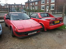 TOYOTA MR2 MK1 mark1  AW11 breaking SPARES parting out 4age restore repair