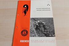 144566) Rabewerk Dreipunkt Beetpflüge Prospekt 07/1963
