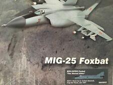 """Hobby Master 1:72 HA5602 Mig-25 Foxbat de la fuerza aérea iraquí """"Hornet Killer"""""""