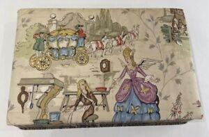 Vintage Jewellery Keepsake Box Cinderella
