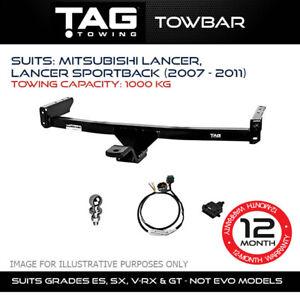 TAG Towbar Fits Mitsubishi Lancer Sportback 2007 - 2011 Towing Capacity 1000Kg