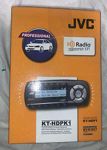 JVC KT-HDPK1 Transportable Portable HD Radio Receiver with Car Kit NEW SEALED!!