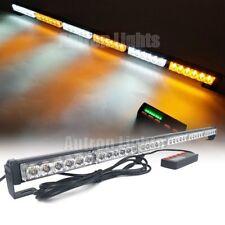 "38"" 108W LED Amber White Flash Traffic Advisor Warning Emergency Strobe Lightbar"