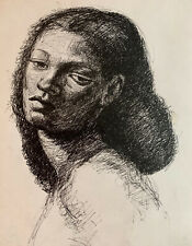 New ListingVintage Pen & Ink Drawing by Carlyle C. Browning