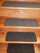 "13 Step  Indoor Stair Treads  Staircase Step Rug Carpet  8"" X 24""."