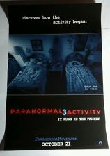 PARANORMAL ACTIVITY 3 THREE DISCOVER HOW THE ACTIVITY BEGAN MOVIE 11x17 POSTER