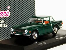 TRIUMPH TR6 1969 WITH HARD TOP GREEN DETAIL CARS ART 354 1/43