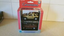 CARARAMA LAND ROVER + MERCEDES TWIN PACK 1/43 SCALE