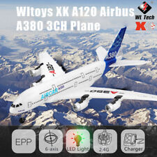 Wltoys XK A120 RC Flugzeug 3CH 2.4 GHz Ferngesteuertes A380 Modell Flugzeug EPP
