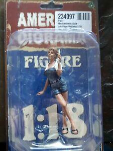 American diorama figuren 1:18