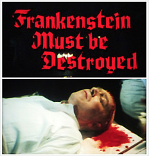 "16mm Feature Film: TECHNICOLOR ""Frankenstein Must Be Destroyed"" (1969) HORROR"