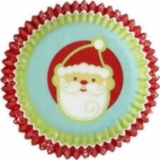Snowflake Wishes with Santa Christmas Cupcake Baking Cups 75 ct from Wilton 1245