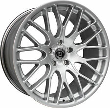 22 Zoll Porsche Cayenne Alufelgen DIEWE IMPATTO 10Jx22 LK 5/130 silber Concarve
