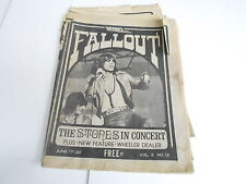 JUNE 17  1975 FALL OUT vintage music magazine ROLLING STONES