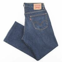 Vintage LEVI'S 517 Blue Denim Regular Bootcut Jeans Mens W36 L30