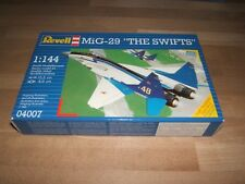 "REVELL 04007 Mig-29 ""Les martinets"" russe JET FIGHTER 1:144 Scale Kit-Neuf"