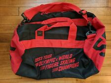 VTG 90s 1993 Tour USA Olympic And World Figure Skating Champions Duffle Bag 55