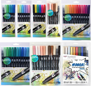 Tombow ABT Dual Brush Pen Kits,Wallets, Packs, Sets, All Options Available