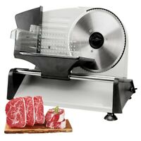 """150W 7.5"""" Blade Electric Meat Slicer Cheese Deli Meat Food Cutter Kitchen Home"""