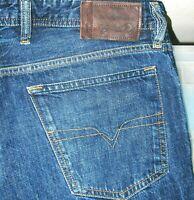 *HOT AUTHENTIC Men's DIESEL @ WAYKEE 807R STRAIGHT LEG DARK Denim Jeans 33 x 30