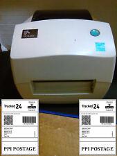 Zebra GC420t  printer/ thermal Direct/Thermal transfer +psu + usb cable