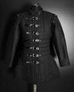 MEDIEVAL THICK PADDED AKETON COAT COSTUMES DRESS ARMOR SCA COTTON GAMBESON