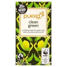 Pukka Green Tea and Making