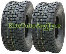 1 Pair: 13x6.50-6 4ply Mower Garden Tractor Grass Tyres, Free Delivery, 13x650-6