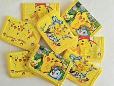 POKEMON PIKACHU WALLET COIN PURSE BIRTHDAY PARTY WALLETS LOLLY LOOT BAG SUPPLIES