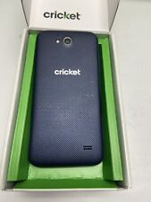 ZTE Overture 2 Smartphone Cricket Blue Android Good Condition 8GB