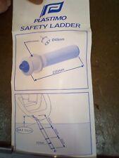 PLASTIMO emergency boarding ladder, flush mount safety yacht sailing boat