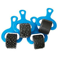 Heavy Duty Rubber/Plastic Paint and Clay Explorer Rollers, Set of 4 R9Y5