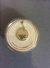Alex and Ani  CHARM endless knot    Shiny silver Finish New A27
