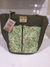 Nwt William Morris Briers England Garden Gardeners Tool Bag Honeysuckle Design